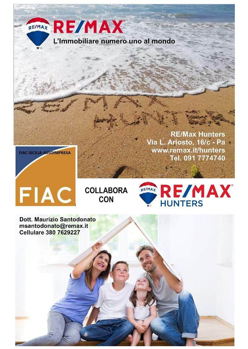 Remax Hunters Palermo partner Fiac Assoimpresa Sicilia